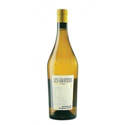 """Domaine Tissot Arbois Chardonnay """"Les Graviers"""" blanc sec 2016"""