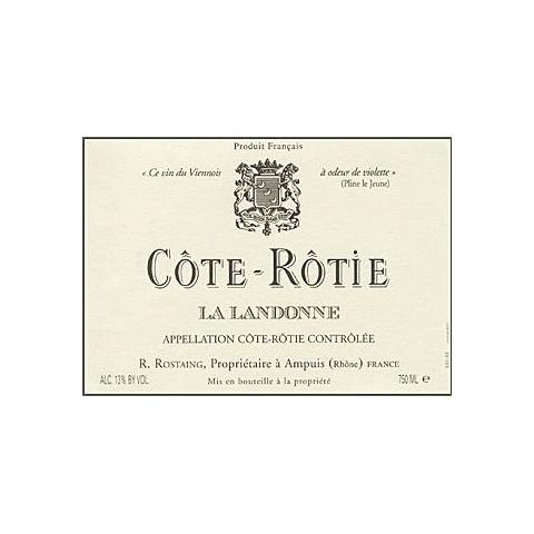 """Domaine Rostaing Cote-Rotie """"La Landonne"""" red 2018"""