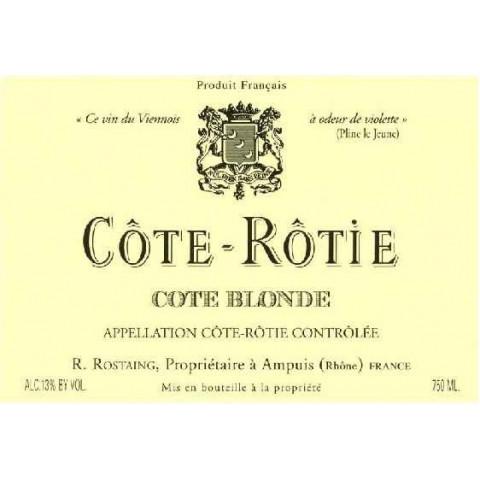 """Domaine Rostaing Côte-Rôtie """"Côte Blonde"""" rouge 2018"""