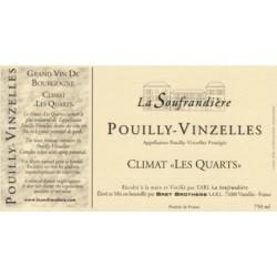 Bret Brothers Domaine La Soufrandiere Pouilly-Vinzelles Les Quarts 2012 blanc sec etiquette