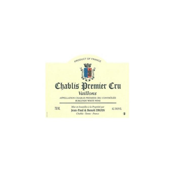 """Domaine Droin Chablis 1er Cru """"Vaillons"""" blanc sec 2019"""