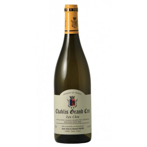 Domaine Jean-Paul et Benoît Droin Chablis Grand Cru Les Clos 2019 bouteille