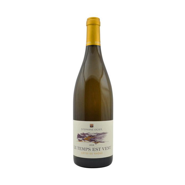 """Domaine Stéphane Ogier """"Le Temps est Venu"""" (Grenache) blanc sec 2019 bouteille"""