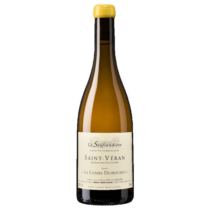 """Bret Brothers La Soufrandière Saint-Véran """"La Combe DesRoche"""" blanc sec 2018 bouteille"""