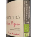 """Le Rocher des Violettes Touraine """"côt vieilles vignes"""" rouge 2019 etiquette droite"""