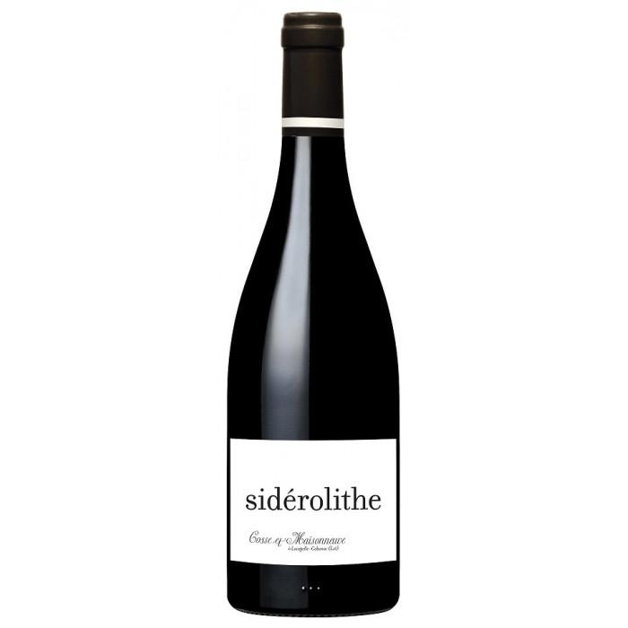"""Domaine Cosse-Maisonneuve """"Sidérolithe"""" (100% CF) rouge 2018 bouteille"""