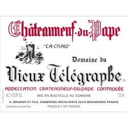 Domaine du Vieux Telegraphe Chateauneuf-du-Pape rouge 2012 etiquette