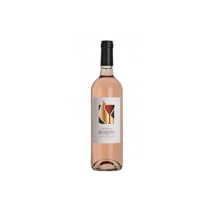 Château Revelette rosé 2019 bouteille