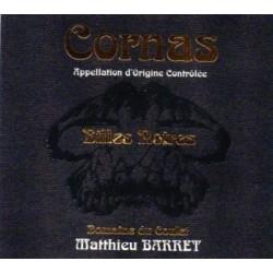 """Domaine du Coulet Matthieu Barret Cornas """"Billes Noires"""" rouge 2010"""