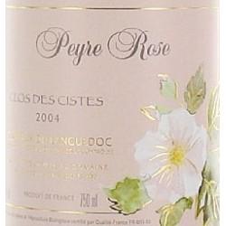"""Domaine Peyre Rose Coteaux du Languedoc """"Clos des Cistes"""" 2004"""