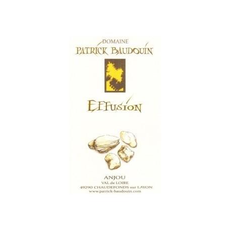 "Domaine Patrick Baudouin ""Effusion"" blanc sec 2013"