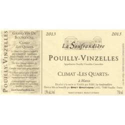 Bret Brothers Domaine La Soufrandiere Pouilly-Vinzelles Les Quarts 2013 blanc sec etiquette