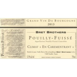 "Bret Brothers Pouilly-Fuisse ""En Carementrant"" 2013 dry white"