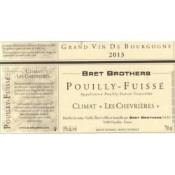 "Bret Brothers Pouilly-Fuisse ""Les Chevrieres"" 2013 dry white"