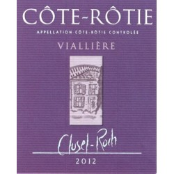 "Domaine Clusel-Roch Cote-Rotie ""Vialliere"" red 2012"