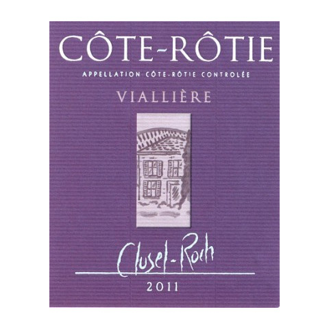 "Domaine Clusel-Roch Cote-Rotie ""Vialliere"" red 2011"