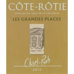 """Domaine Clusel-Roch Côte-Rôtie """"Les Grandes Places"""" rouge 2011"""