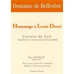 Domaine de Belliviere Hommage à Louis Derre rouge 2013 etiquette