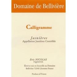 """Domaine de Bellivière """"Calligramme"""" blanc sec 2013 (75 cl)"""