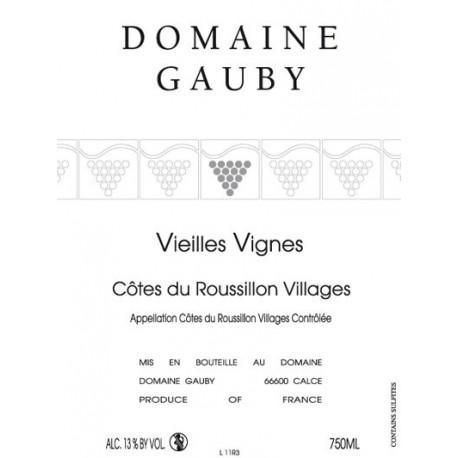 "Domaine Gauby ""Vieilles Vignes"" red 2013"