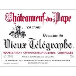 Domaine du Vieux Telegraphe Chateauneuf-du-Pape rouge 2007 etiquette