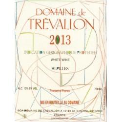 Domaine de Trevallon blanc 2013 etiquette