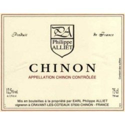 Domaine Philippe Alliet Chinon Tradition rouge 2014 etiquette