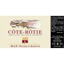 Domaine Stephane Ogier Cote Rotie Reserve du Domaine 2012 ancienne etiquette
