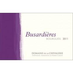 Domaine de La Chevalerie Bourgueil Busardieres rouge 2012 etiquette