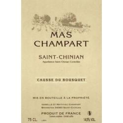 """Mas Champart Saint-Chinian """"Causse du Bousquet"""" red 2013"""