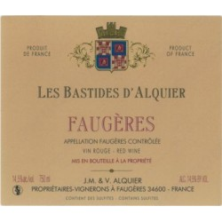 """Domaine Jean-Michel Alquier Faugeres """"Les Bastides"""" red 2013"""