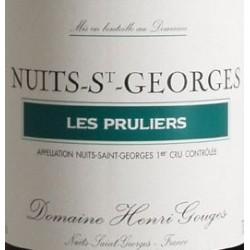 Domaine Henri Gouges Nuits-Saint-Georges 1er Cru Les Pruliers rouge 2013 etiquette