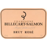 Champagne Billecart Salmon rose (étiquette)