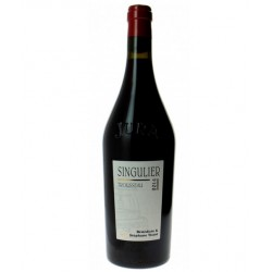 """Domaine Tissot Arbois Trousseau """"Singulier"""" rouge 2014"""