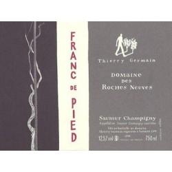 Domaine des Roches Neuves Saumur Champigny Franc de Pied 2013 bouteille