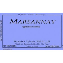 Domaine Sylvain Pataille Marsannay blanc 2014 etiquette