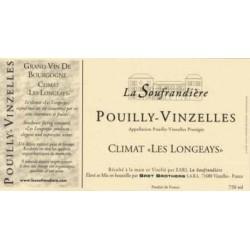 """Bret Brothers Domaine La Soufrandière Pouilly-Vinzelles """"Les Longeays"""" 2014"""