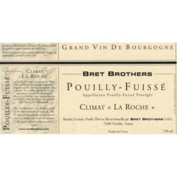 "Bret Brothers Pouilly-Fuisse ""La Roche"" dry white 2014"