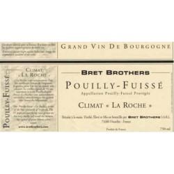 """Bret Brothers Pouilly-Fuissé """"La Roche"""" blanc sec 2014 etiquette"""