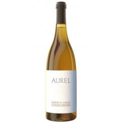 """Domaine Les Aurelles """"Aurel"""" blanc 2012 bouteille"""