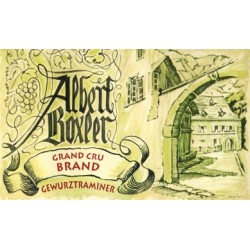 Domaine Albert Boxler Gewürztraminer Grand Cru Brand 2012 (demi-sec)