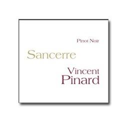"""Vincent Pinard Sancerre """"Pinot Noir"""" 2014 etiquette"""
