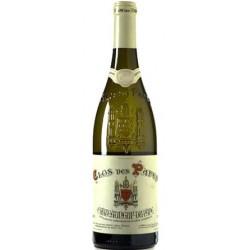 Clos des Papes Chateauneuf du Pape blanc 2015 bouteille