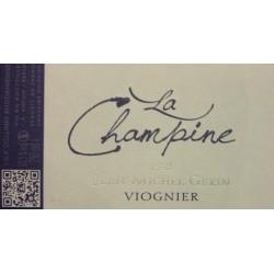 Jean Michel Gerin La Champine Viognier 2015 etiquette