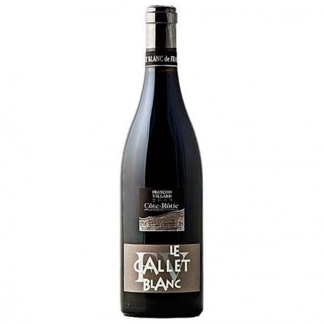 François VIllard Cote Rotie Gallet blanc bouteille