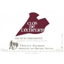 Domaine des Roches Neuves Clos de l'Echelier rouge 2015 etiquette