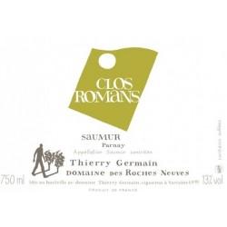 Domaine des Roches Neuves Saumur Clos Romans blanc sec 2015 etiquette