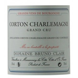 Domaine Bruno Clair Corton Charlemagne Grand Cru dry white 2014