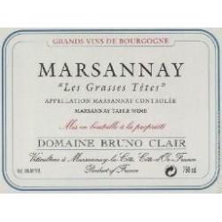 "Domaine Bruno Clair Marsannay ""Les Grasses Tetes 2014"