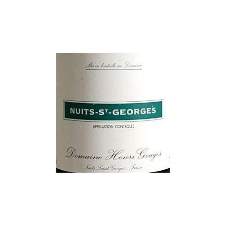 Domaine Henri Gouges Nuits Saint Georges Villages rouge 2014 etiquette